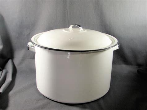 enamel stock pot white enamel stock pot with lid 3567