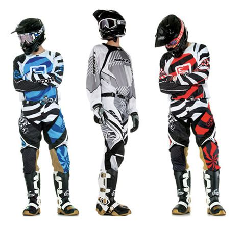 motocross gear first look 2010 scott mx apparel motocross feature