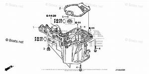 Honda Outboard Parts By Hp  U0026 Serial Range 20hp Oem Parts Diagram For Oil Case   Oil Pan Gasket