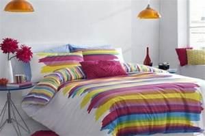 Deco Multicolore : d co chambre multicolore ~ Nature-et-papiers.com Idées de Décoration