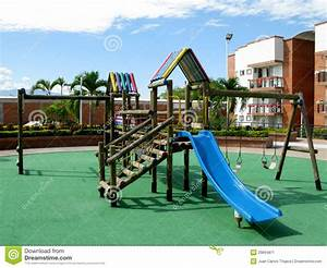 Children Playground Equipment. Stock Image - Image: 29894871