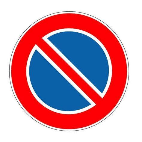 autocollant ou panneau rigide interdiction de stationner
