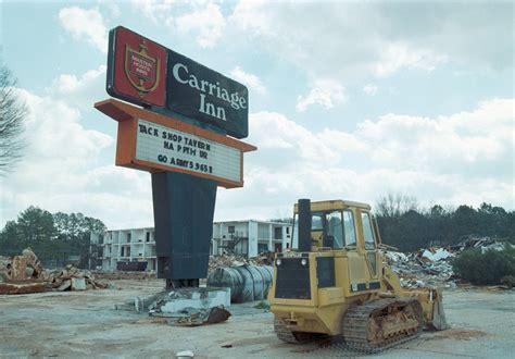 day  huntsville history carriage inn demolition