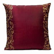 Burgundy Decorative Throw Pillows