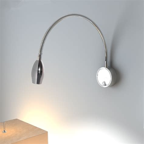 modern wall l swing arm wall sconce home lighting 3w
