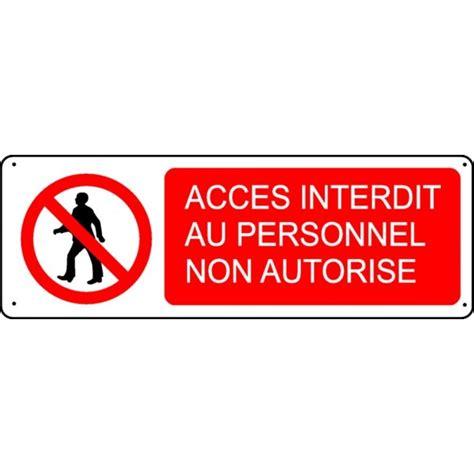 armoire de cuisine en aluminium pictogramme accès interdit au personnel non autorisé
