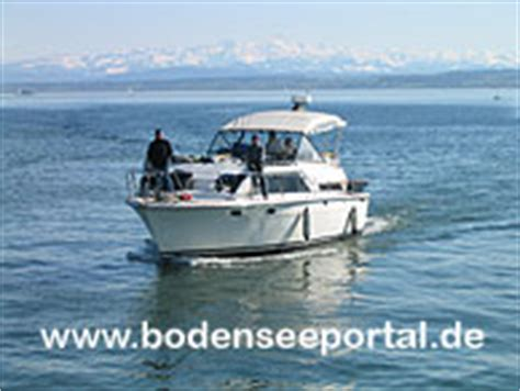 Motorboot Chartern Bodensee by Bodensee Motorboot Charter