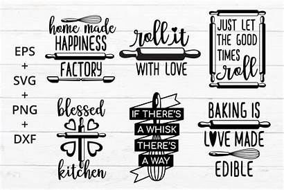 Svg Baking Kitchen Theme Crafter Bakers Quotes