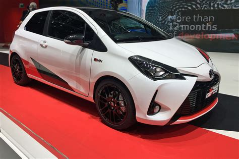 a toyota new toyota yaris grmn a hatch dark horse by car magazine