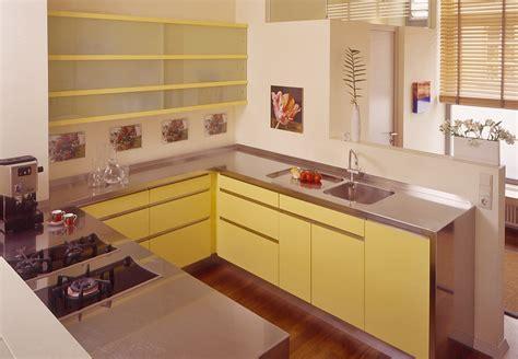Küche Mit Edelstahlarbeitsplatte  Schreinerei Buchal Krings