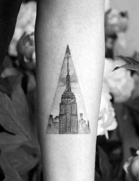 50 Empire State Building Tattoo Ideas For Men - Skyscraper Designs