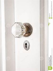 Poignée De Porte Moderne : vieux verre et poign e de porte en laiton photo stock ~ Premium-room.com Idées de Décoration