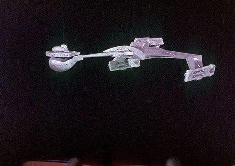 Original Klingon D7 Battle Cruiser Model Suspended In