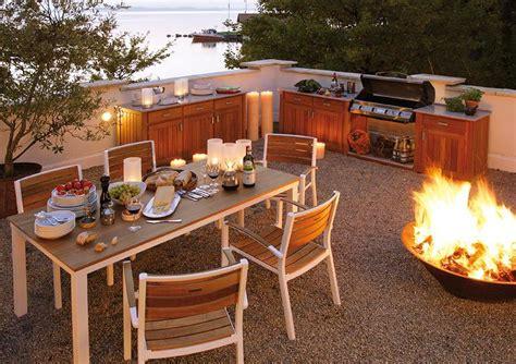 outdoor kueche deck von weishaeupl bild  schoener