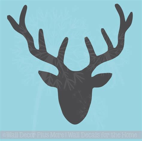 turquoise wall tiles deer silhouette vinyl wall decal sticker graphic