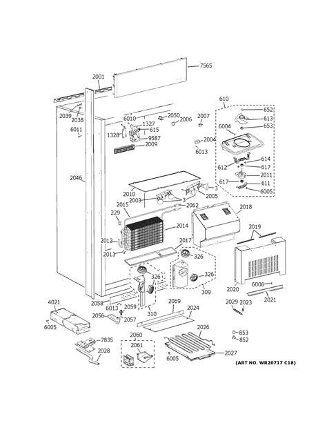 ge zirsnnbrh refrigerator parts sears partsdirect