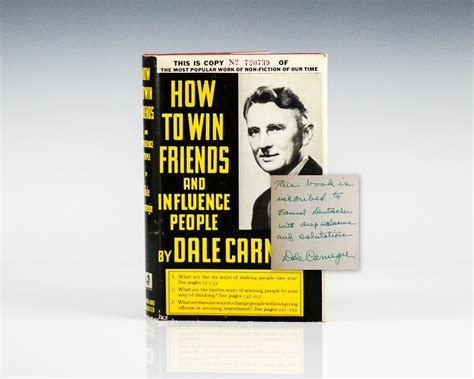 How To Win Friends And Influence People  Raptis Rare Books
