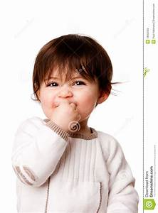 Cute Mischievous Baby Toddler Face Stock Photos - Image ...