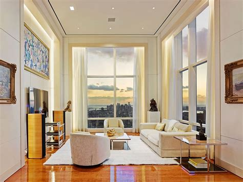 82 Million New York Apartment Breathtaking View by Breathtaking New York City Penthouse Leaves You Awestruck