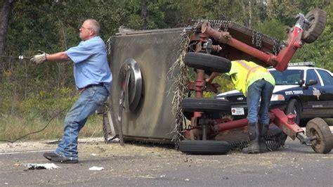 truck hits bush hog  highway  texarkana today