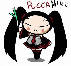 PUCCA MIKU by GaruGiroSonicShadow.deviantart.com on ...