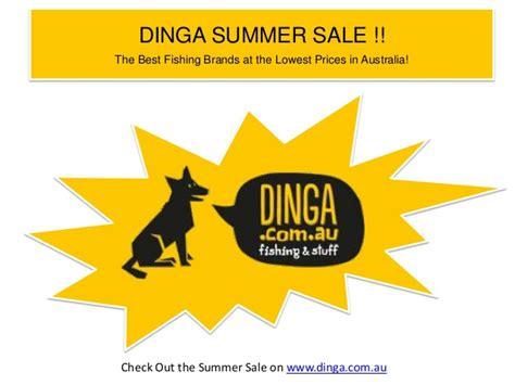 dinga fishing summer tackles deals stuff slideshare