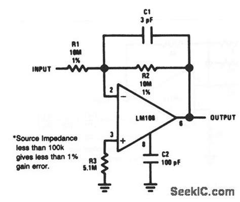 Inverting Amplifier With High Input Impedance
