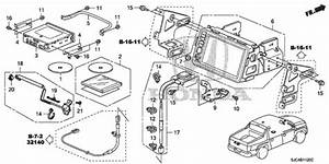 Oem 2008 Honda Ridgeline Sedan Navigation System Parts