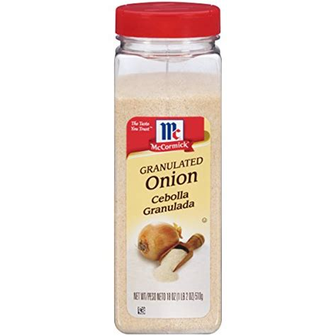 buy mccormick granulated onion  oz special discount