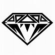 Diamond Black | Stencil diy, Drawing borders, Diamond