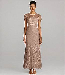 My mom wants to wear this to my weddinglovely for Dillards wedding dresses
