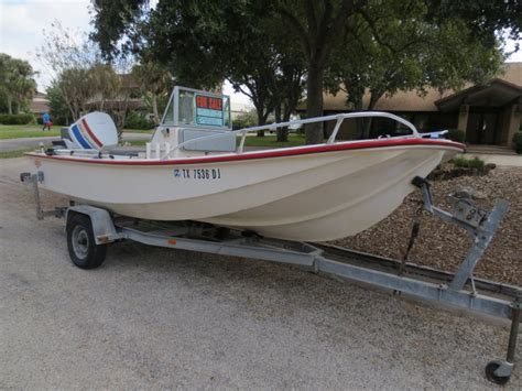 Mckee Boats by 1985 17 Mckee Craft Boat Quot Offshoresman Quot 150 Hp Johnson