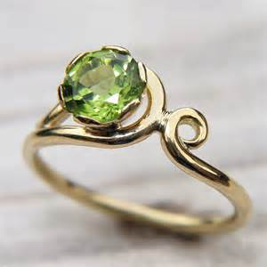 peridot wedding rings do try some peridot engagement rings when looking for some novelty in your engagement unique