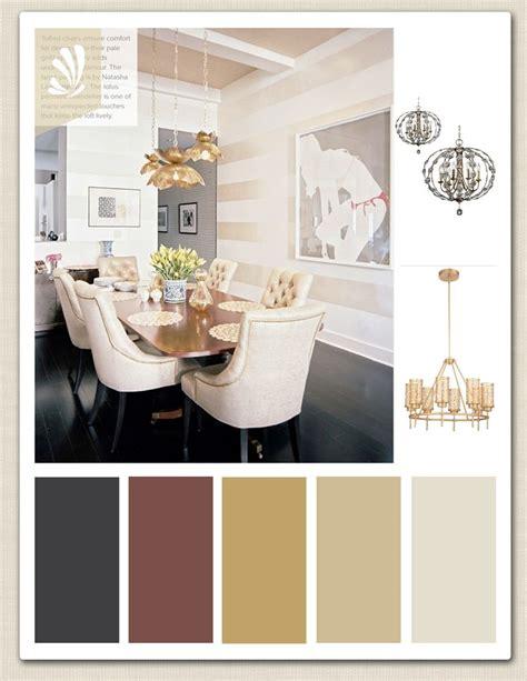 gold cream cranberry  espresso color palette