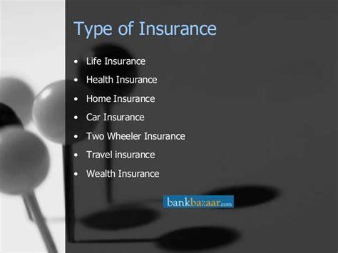 Loans And Insurance In India-bankbazaar