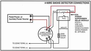 Diagram  Burglar Alarm Smoke Detectors Wiring Diagram 4