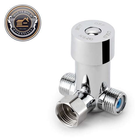 hot water mixing valve for touchless faucet thermostatic
