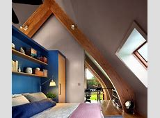 Design rooms with pitched roof to feel good Interior