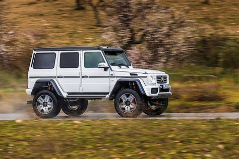 Mercedes Benz G-class 4x4 Squared (w463) Specs & Photos