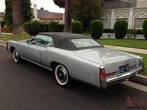 Cadillac Eldorado Cabriolet : 1976 cadillac eldorado convertible 2 door 8 2l low miles ~ Medecine-chirurgie-esthetiques.com Avis de Voitures