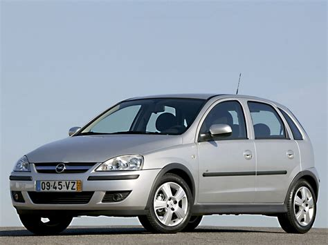 opel corsa 2006 opel corsa cars specifications technical data