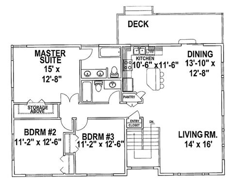 tri level house plans 1970s 1970s tri level house plans