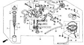 similiar 04 honda rancher carb exploded view keywords honda recon 250 carburetor diagram on honda 250 recon wiring diagram
