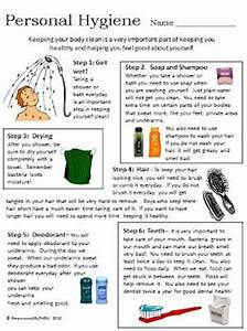 Life Skills - Personal Hygiene, comes with additional ...