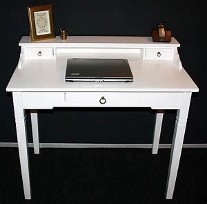 Schreibtisch Vintage Weiß : massivholz sekret r konsolentisch schreibtisch holz massiv ~ Lateststills.com Haus und Dekorationen