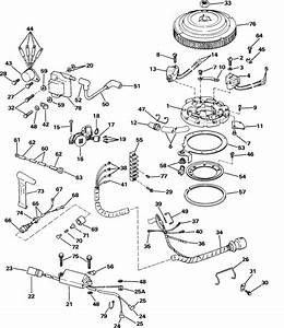 Johnson Ignition System Parts For 1985 60hp J60elcod