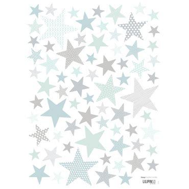 behang babykamer sterren
