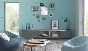 Meuble Moderne Salon : meuble de salon contemporain extension cuisine dialogue ~ Teatrodelosmanantiales.com Idées de Décoration