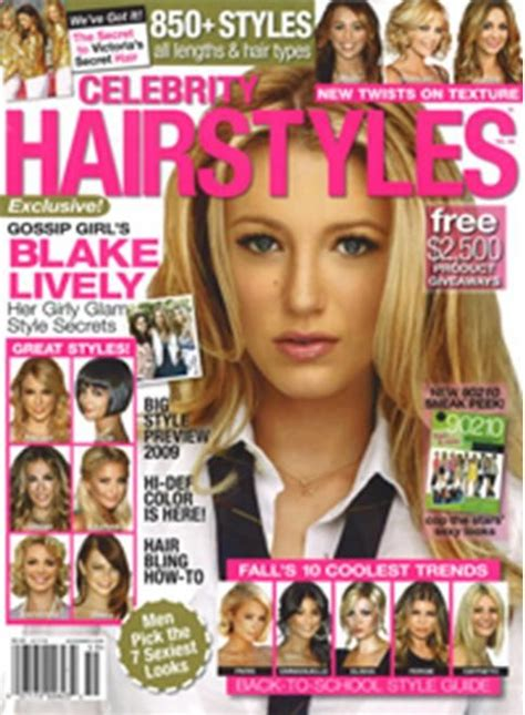 hairstyle magazines celebrity hairstyles provenhair