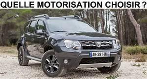 Dacia Duster Motorisation : quelle motorisation choisir ~ Medecine-chirurgie-esthetiques.com Avis de Voitures